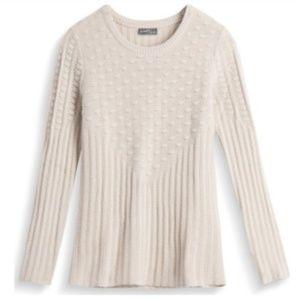 41 Hawthorn Poppi Textured Sweater Beige Medium